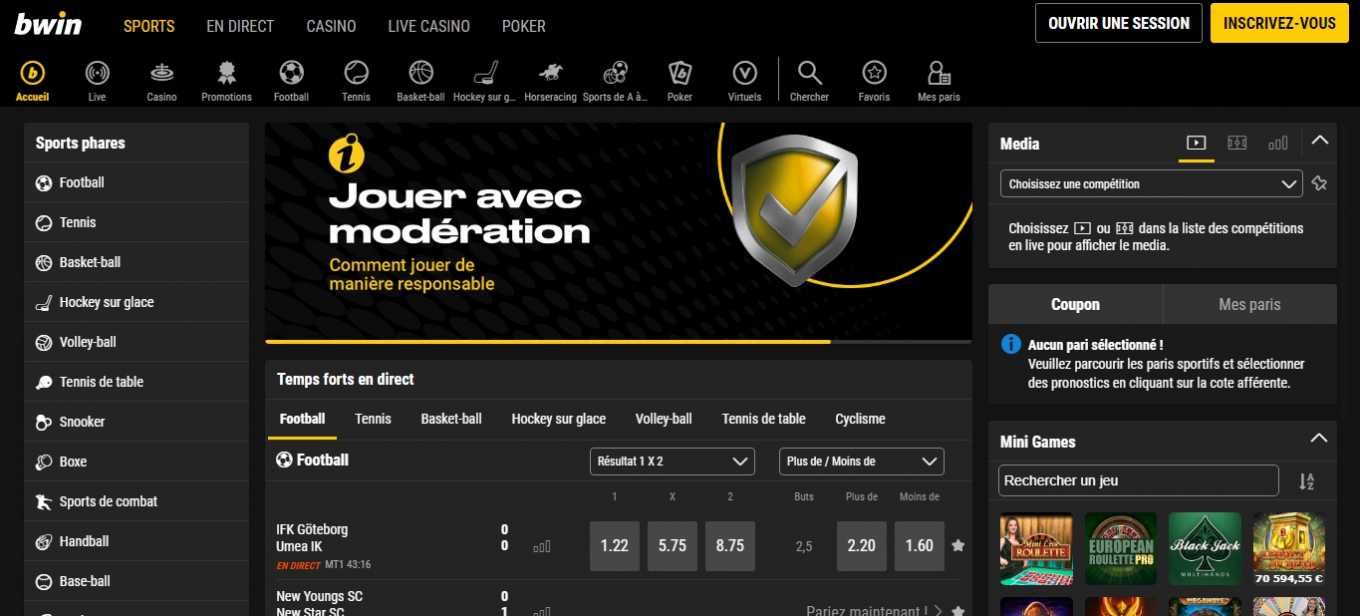 Bwin official website