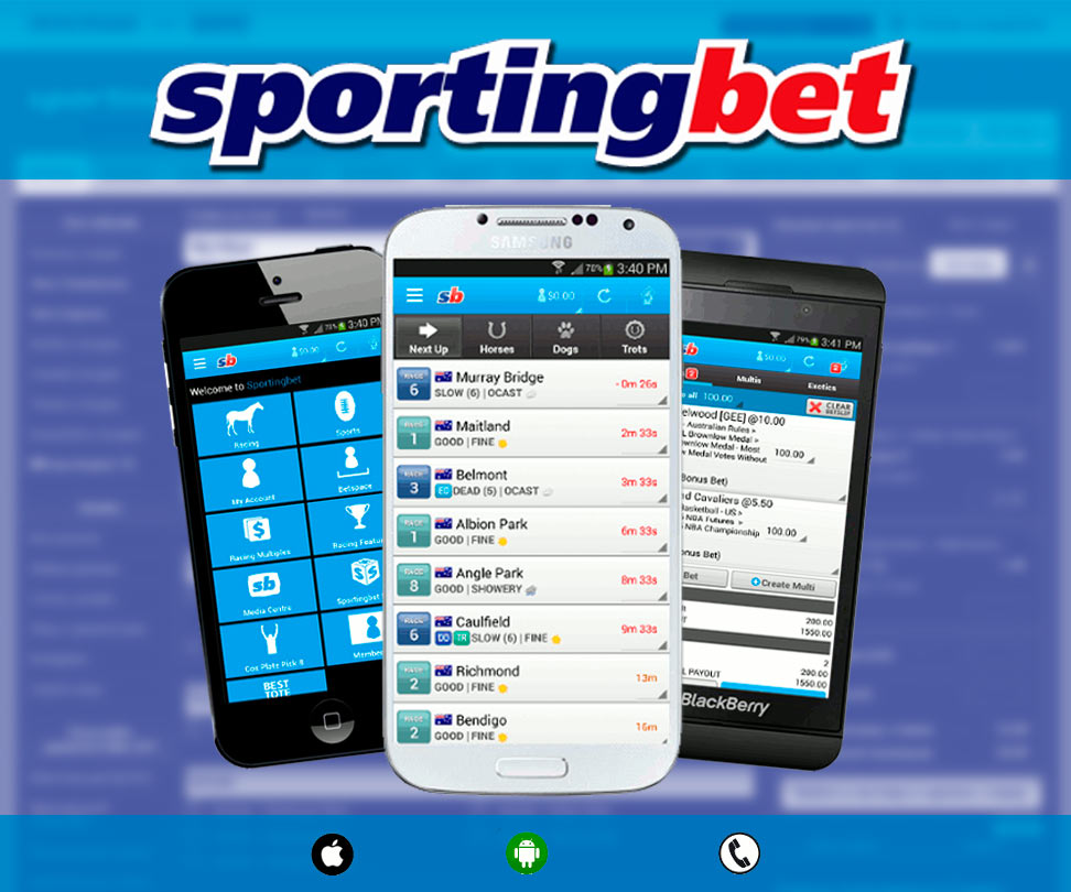 Sportingbet Mobile Version and Mobile Application
