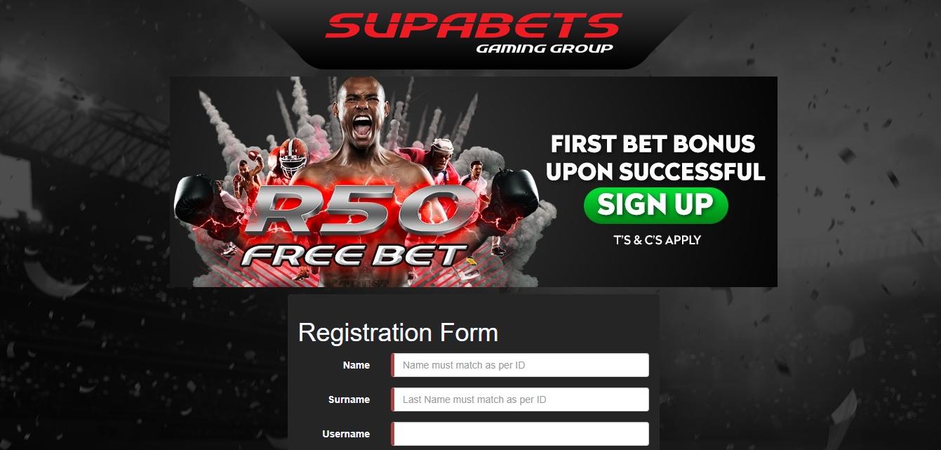 Supabets Register