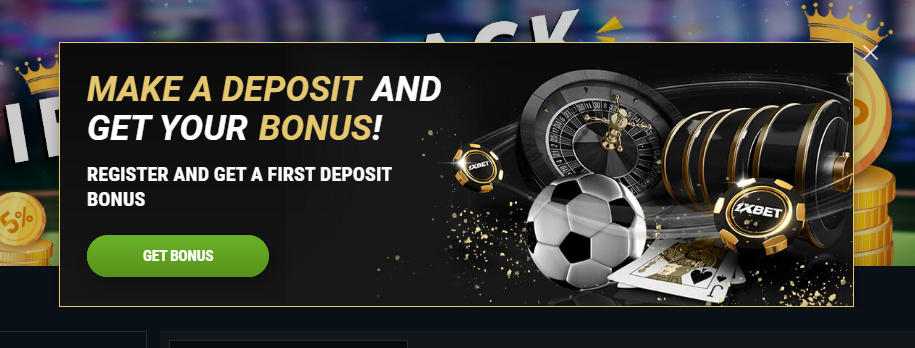 1xBet registration bonus